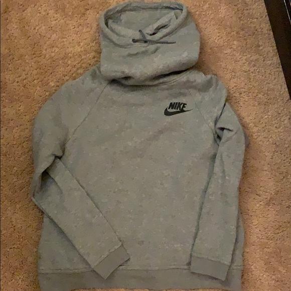 Nike Tops - gray Nike hoodie